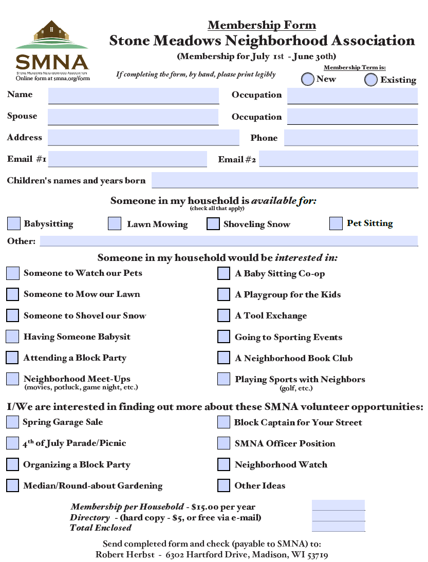 SMNA Application